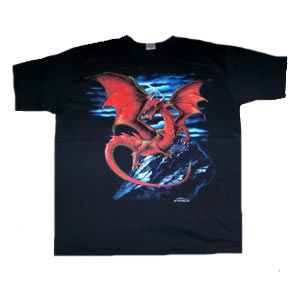 Tricou UK DRAGON ROSU (TRS)
