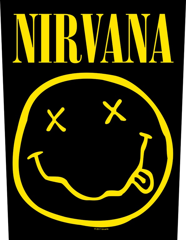 Backpatch Nirvana Smiley
