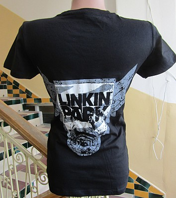 Girlie LINKIN PARK White Logo GR/FR/
