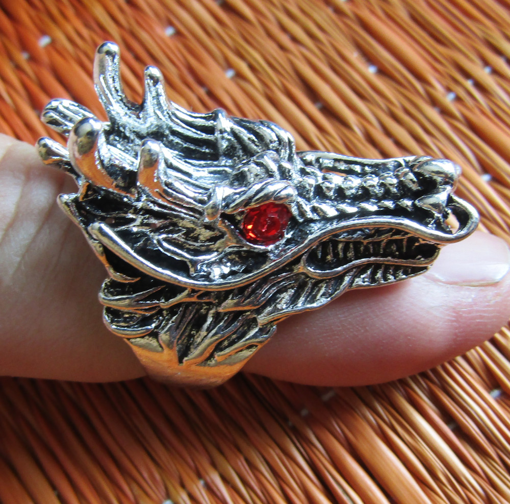 Inel Rebel Ring Dragon Head