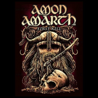 Patch AMON AMARTH - First Kill (P-SHK)
