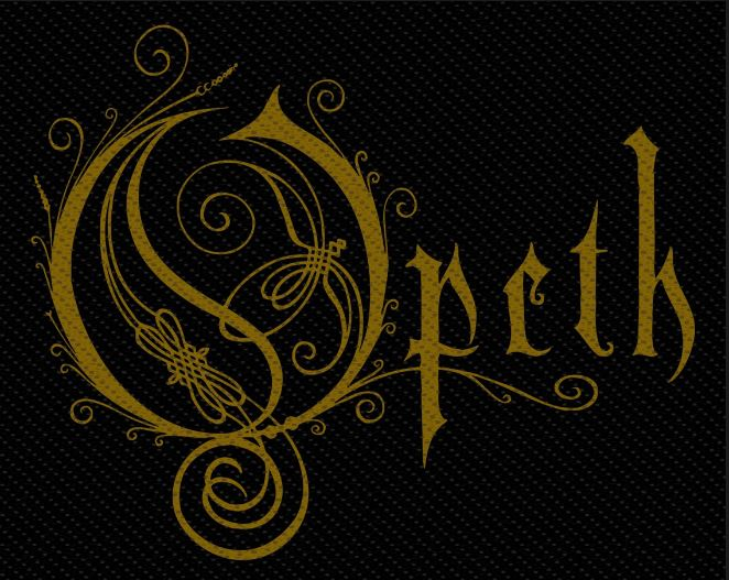 Patch Opeth - Gold Logo