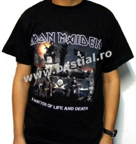 Tricou IRON MAIDEN A Matter of Life and Death (SUPERPRET)