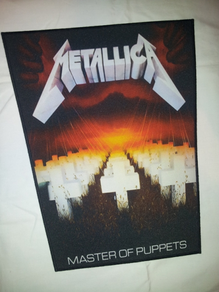 Backpatch METALLICA Master Of Puppets