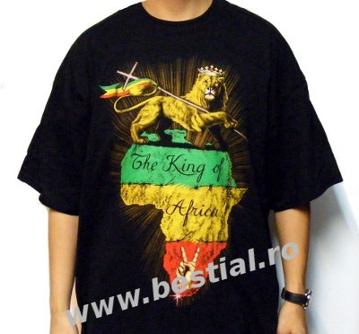 Tricou UK PT113 King Of Africa (TRS)
