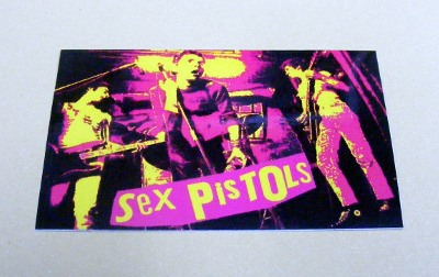 Sticker SEX PISTOLS Live