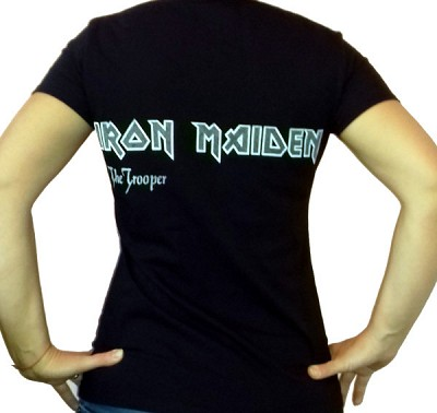 Girlie IRON MAIDEN The Trooper GR/FR/008