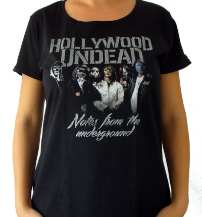 Girlie HOLLYWOOD UNDEAD Notes From The Underground GR/POL/008