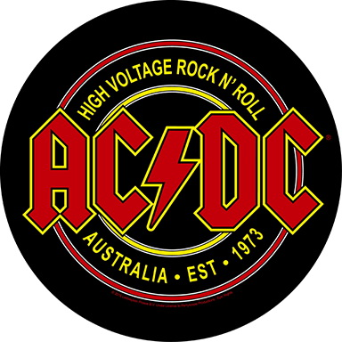 Backpatch AC/DC - High Voltage Rock N Roll