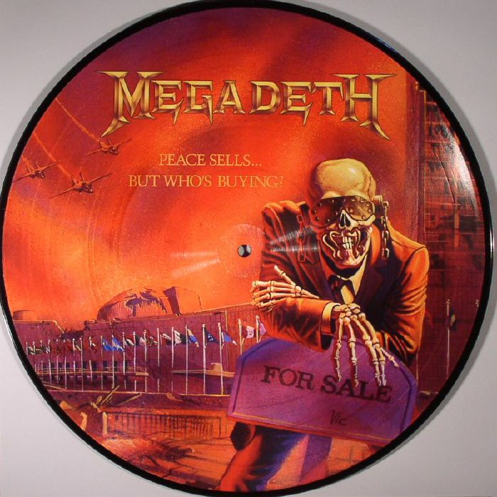 MEGADETH Peace Sells... But Who's Buying? LP (picture LP)