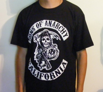 Tricou SONS OF ANARCHY California (SUPERPRET)