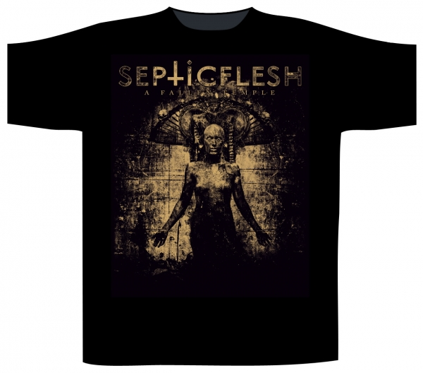 Tricou SEPTIC FLESH - A Fallen Temple