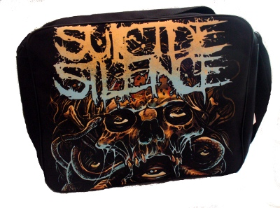 Geanta 40 cm SUICIDE SILENCE Five Eyes