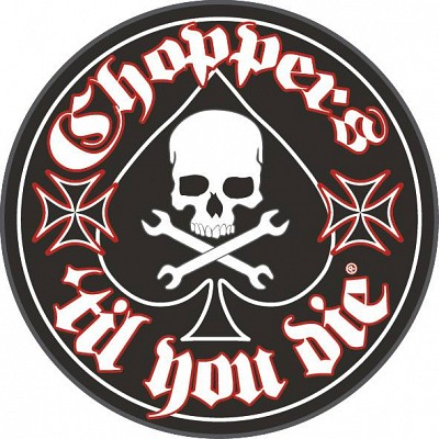 Patch CHOPPERS Till You Die (patch brodat) (SHK)