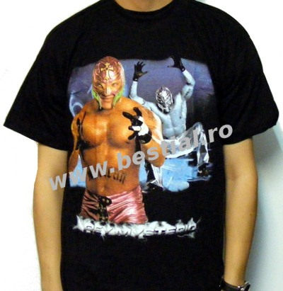 Tricou WRESTLING RAY MYSTERIO (SUPERPRET)