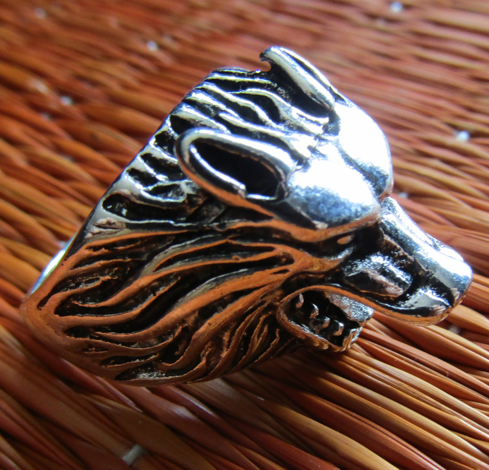 Inel Rebel Ring Wolf