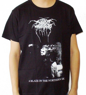 Tricou DARKTHRONE A Blaze in the Northern Sky (SUPERPRET)