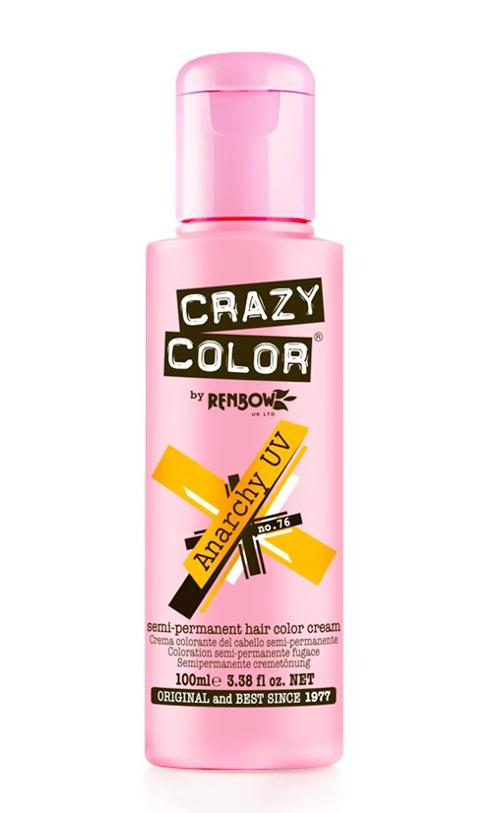 Vopsea de par semi permanenta Crazy Color Anarchy Uv - 76