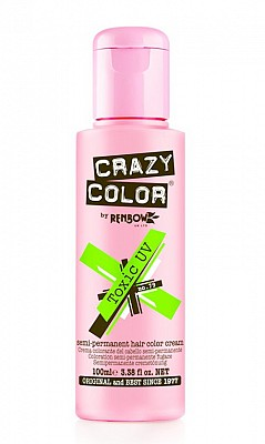 Vopsea de par semi permanenta Crazy Color Toxic Uv - 79